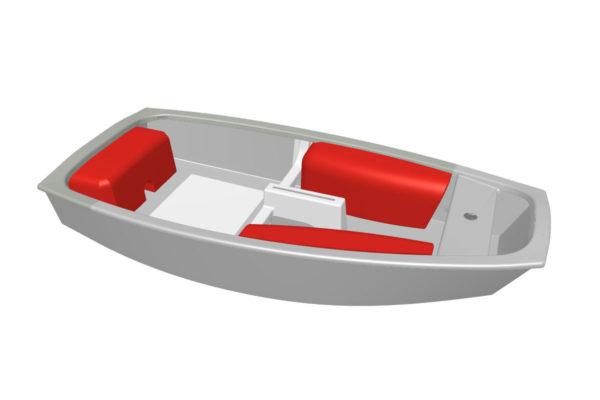barco optimist 007
